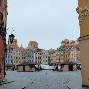 崩壊したハズのワルシャワとは思えない光景が広がる旧市街地編-ポーランド旅行記-60