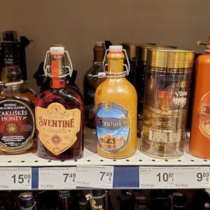 リトアニアでの晩御飯と買いたかった蜂蜜酒(ミード)を求めて-バルト三国旅行記-15