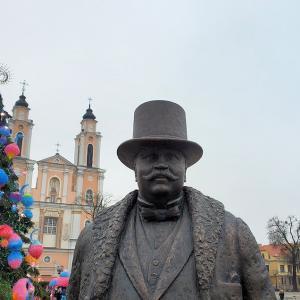 クリスマスのカウナス旧市街地をのんびり散策-バルト三国旅行記-18