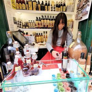 オビドスで更にチョコレート入りのジンジャまで飲んで、シントラの街へ向かう-ポルトガル旅行記38