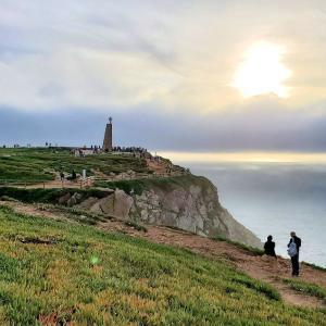 ヨーロッパ最西端であるロカ岬に辿り着き、果てなく広がる大西洋を眺める-ポルトガル旅行記44