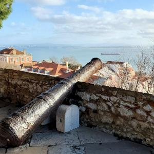 サン・ジョルジェ城からリスボン市内を見下ろす景色もこれまた最高!-ポルトガル旅行記59