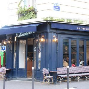 パリ11区:おいしい日本食とホットチョコレートとお洒落カフェ