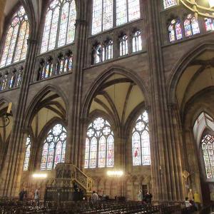 フランス世界遺産のストラスブールと大聖堂