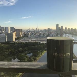 メズム東京宿泊記 コロナ禍のクラブラウンジサービスとガーデンビューバルコニー付きルーム