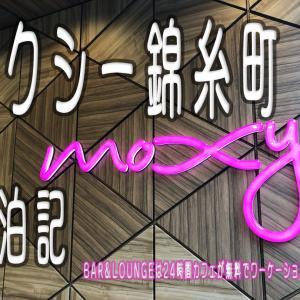 モクシー錦糸町宿泊記 BAR&LOUNGEは24時間カフェが無料でワーケーションに最適