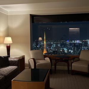 リッツ・カールトン東京スイートルーム宿泊記 約20万円のタワースイート、1キングルームにアップグレード