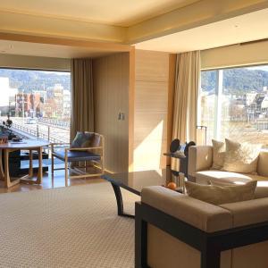 コーナースイート MINAMI宿泊記(リッツカールトン京都) ポイント宿泊から約17万円のスイートにアップグレード