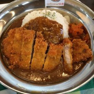 まんまる食堂|糸島でカツカレーを食べよう!めんたい家族の取材も来た!