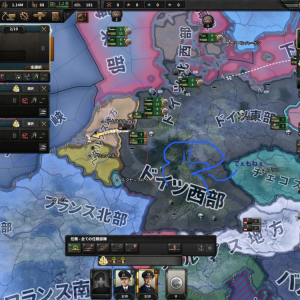 sirius7の憂鬱 Hearts of Iron IV (HOI4) ドイツプレイEp1 〜開戦準備〜