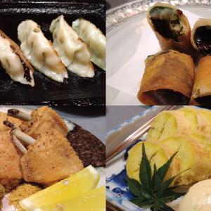 京成千葉駅すぐ、うまいもの工房 流庵 品数豊富なランチのお店に夜訪問 個室利用に加え、料理の取り分けなど、コロナ対策万全なお店で頂く秋の食材たち