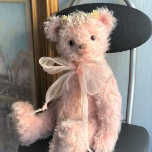 ピンクのクマさんと春を想う・・・