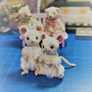 ネズミさんあと少し(^^)