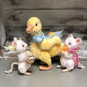ネズミさん達はアヒルさんと一緒に(*'∀')