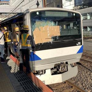 常磐線 我孫子駅で人身事故「フロントガラス大破、真後ろで轢いてグチャって音」電車遅延12/4