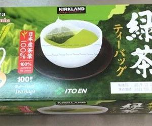 【コストコ】抹茶入り緑茶ティーバッグは、抹茶の香り・味を感じる上品なお茶!購入はストアクーポン時が狙い目!