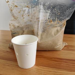紙コップでやるぬかの水抜き方法【水取り】【ぬかとっくり】