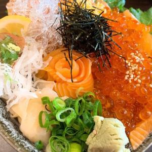 岡山中央卸売市場 ふくふく通りで盛り盛りの海鮮丼を食らう!