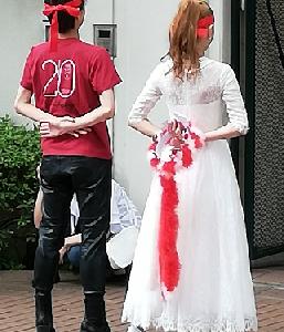 アデュー「紅さん」~宝塚大劇場千秋楽の入り待ち~