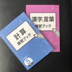 Z会 エブリスタディアドバンスト 5年生 漢字と言葉/計算練習ブック