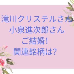 滝川クリステルと小泉進次郎が結婚!関連銘柄は?