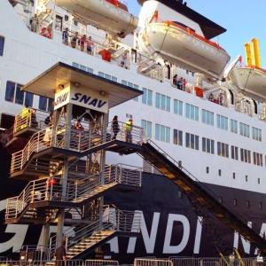 初の船旅。フェリーでシチリアに入る【イタリア:パレルモ】