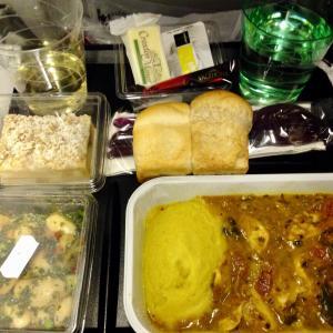 ナンバーワン美味しかった機内食・カタール航空【ドーハ乗継ロンドン】