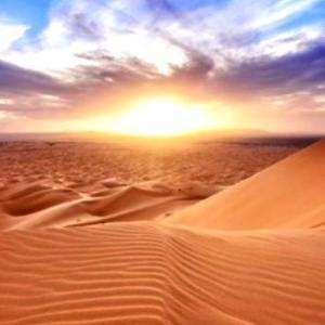 砂漠の旅日記① 砂漠の夜