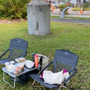 外出自粛生活8:再びケアンズCityでピクニック