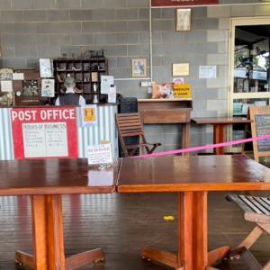 規制緩和後のマリーバのカフェに行ってみる