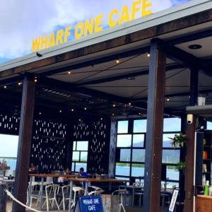 Cityの海沿いカフェ