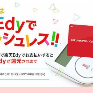 楽天Edyチャージにおすすめのクレジットカード【2020年4月版】