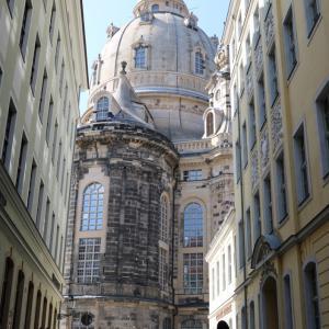 圧倒的なフラウエン教会(聖母教会)とドレスデンの美しい街並み(2019.9 子連れチェコ・ドイツ旅 #34)