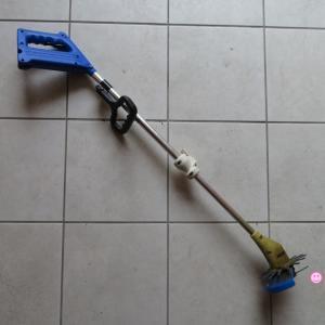 「庭の草取り」で苦しむ方へ、安くて使いやすい、おすすめ家庭用電動草刈機を紹介します。
