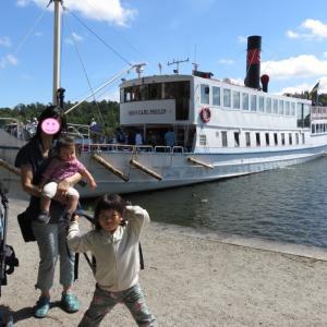 ドロットニングホルム宮殿へのアクセスは、フェリーがオススメ(1歳&4歳:子連れスウェーデン・フィンランド・エストニア旅 ♯14)