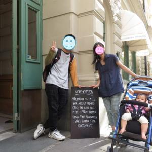 ストックホルムの老舗カフェ「ベーテ・カテン」で優雅なティータイム(1歳&4歳:子連れスウェーデン・フィンランド・エストニア旅 ♯17)
