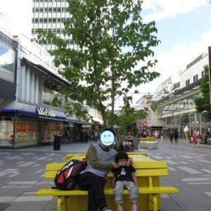 ストックホルム街歩き~ヒュートリエット、H&M、セルゲルガータン通り、セルゲル広場~からの大ピンチ(1歳&4歳:子連れスウェーデン・フィンランド・エストニア旅 ♯18)