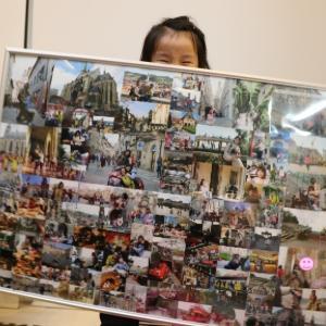 たくさんの写真を部屋に飾る方法~巨大「組み写真パネル」の作り方~