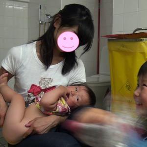 エストニア:タリンの病院で1歳2か月の次女の「おしっこを採る」大作戦(1歳&4歳:子連れスウェーデン・フィンランド・エストニア旅 ♯60)