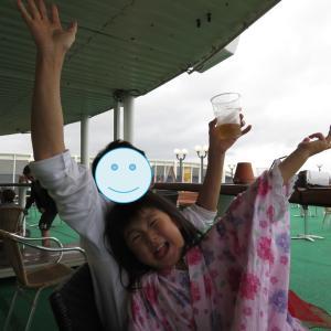 タリンからストックホルムへ向かうフェリーで、酒飲んでぶっ倒れる(1歳&4歳:子連れスウェーデン・フィンランド・エストニア旅 ♯70)