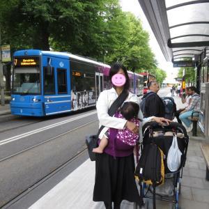 ストックホルム:切符を持たずにトラムに乗っても、車内で買えます(1歳&4歳:子連れスウェーデン・フィンランド・エストニア旅 ♯87)