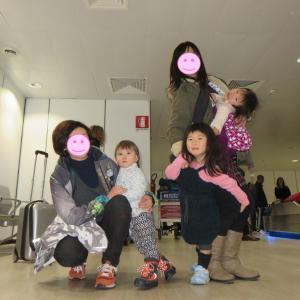ローマ:フェウミチーノ空港で、ベビーカーが出てこない!(1歳&5歳:子連れイタリア旅 ♯5)