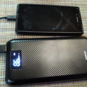 旅行のおともKEDRON 大容量モバイルバッテリー24000mAh