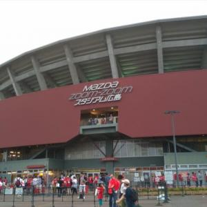 初マツダスタジアムでカープファンのやさしさを実感