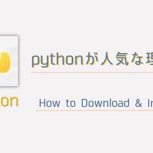 Python (パイソン)が人気な理由とは? インストール方法の解説