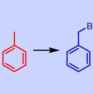 芳香環のベンジル位の臭素化