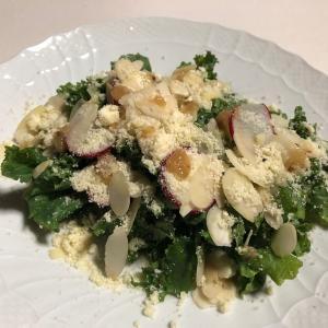 Oisixの『ケールのチーズナッツサラダ』でケールのおいしさにビックリ!