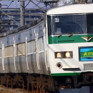 同世代車両、最期の輝き(185系あかぎ8号)