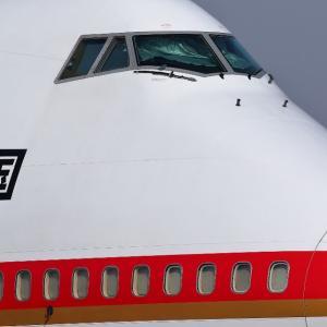 平成最後の投稿 4月下旬のB-747旧政府専用機