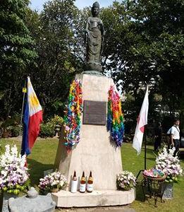 75回目の終戦記念日とセブ戦没者慰霊祭